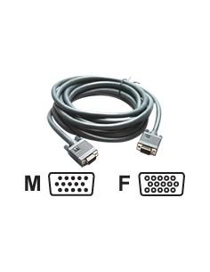 Kramer Electronics C-GM/GF-50 VGA cable 15.2 m (D-Sub) Black Kramer 92-6101050 - 1