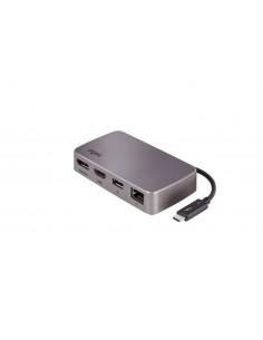Elgato 10DAB9901 kannettavien tietokoneiden telakka ja porttitoistin Langallinen Thunderbolt 3 Hopea Elgato 10DAB9901 - 1