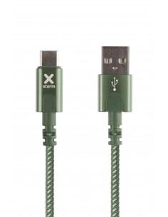 Xtorm CX2032 USB-kaapeli 1 m 2.0 USB A C Vihreä Xtorm CX2052 - 1