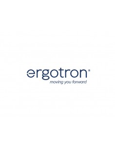 "Ergotron MXV Series Desk Dual Monitor Arm 61 cm (24"") Klämma Svart Ergotron 45-530-224 - 1"