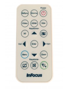 Infocus INA-REMPJ001 remote control Projector Touch keys Infocus INA-REMPJ001 - 1