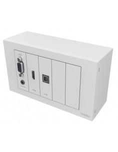 Vision TC3-PK+PK5MCABLES outlet box White Vision TC3-PK+PK5MCABLES - 1