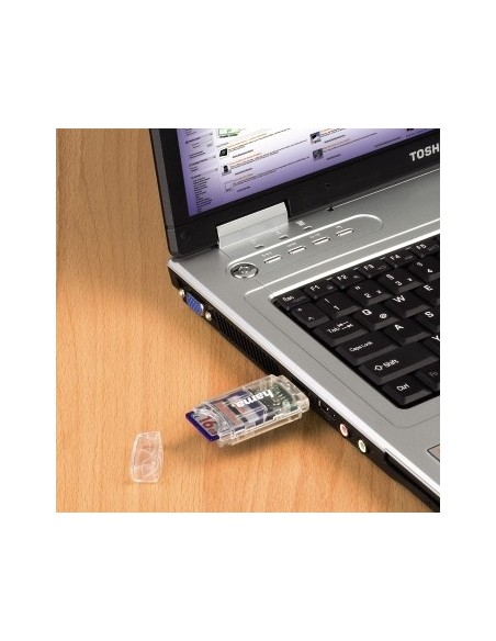 Hama 8in1 SD/MicroSD Card Reader kortinlukija Hama 91092 - 3