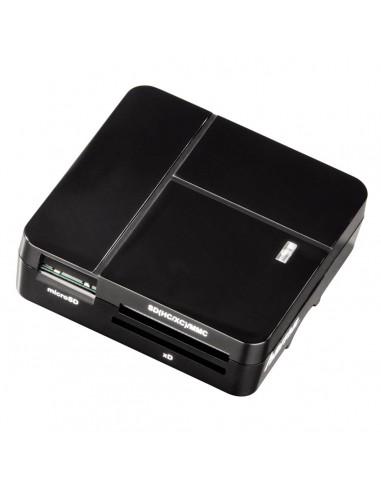 Hama 00094124 kortinlukija USB 2.0 Musta Hama 94124 - 1