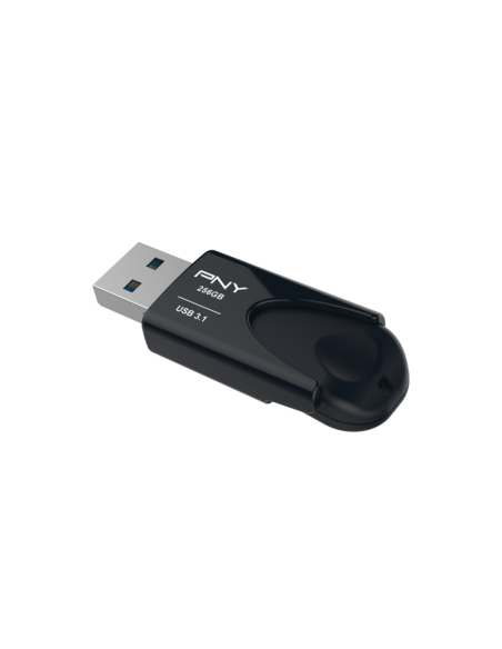 PNY Attache 4 USB-muisti 256 GB USB A-tyyppi 3.2 Gen 1 (3.1 1) Musta Pny FD256ATT431KK-EF - 3