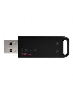 Kingston Technology DataTraveler DT20 USB-muisti 32 GB USB A-tyyppi 2.0 Musta Kingston DT20/32GB-3P - 1