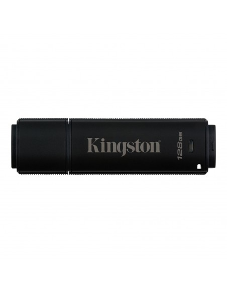 Kingston Technology DataTraveler 4000G2 USB-muisti 128 GB USB A-tyyppi 3.2 Gen 2 (3.1 2) Musta Kingston DT4000G2DM/128GB - 1