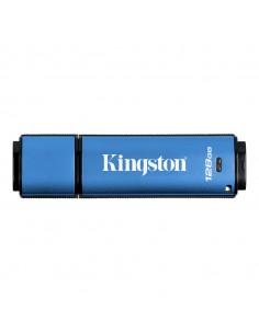 Kingston Technology DataTraveler VP30 USB-muisti 128 GB USB A-tyyppi 3.2 Gen 2 (3.1 2) Sininen Kingston DTVP30/128GB - 1