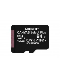 Kingston Technology Canvas Select Plus memory card 64 GB MicroSDXC UHS-I Class 10 Kingston SDCS2/64GBSP - 1
