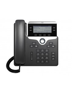Cisco 7821 IP phone Black, Silver Wired handset 2 lines Cisco CP-7821-3PCC-K9= - 1