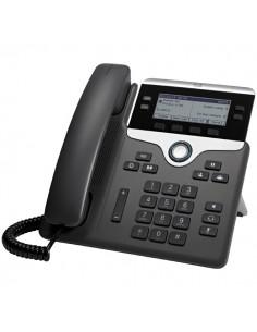 Cisco 7841 IP-puhelin Musta, Hopea Johdollinen puhelin 4 linjat LCD Cisco CP-7841-3PCC-K9= - 1