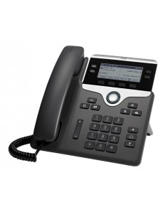 Cisco 7841 IP-puhelin Musta, Hopea Johdollinen puhelin 4 linjat LCD Cisco CP-7841-K9= - 1