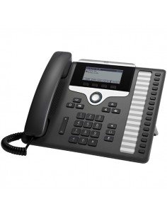 Cisco 7861 IP phone Black, Silver Wired handset 16 lines LCD Cisco CP-7861-3PCC-K9= - 1