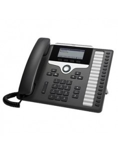 Cisco 7861 IP phone Black, Silver Wired handset 16 lines LCD Cisco CP-7861-FS= - 1