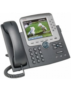 Cisco Unified IP Phone 7975G Soittajan tunnistus Musta, Hopea Cisco CP-7975G= - 1