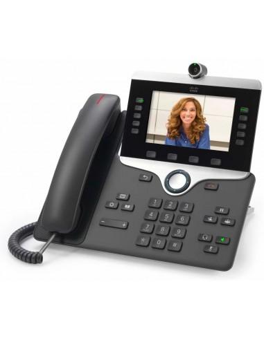 Cisco 8845 IP-puhelin Musta Johdollinen puhelin LCD Cisco CP-8845-3PCC-K9= - 1
