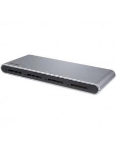 StarTech.com 4SD4FCRU31C kortinlukija USB 3.2 Gen 1 (3.1 1) Type-C Musta Startech 4SD4FCRU31C - 1
