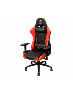 MSI MAG CH120 Gaming Chair 'Black and Red, Steel frame, Recline-able backrest, Adjustable 4D Armrests, breathable foam Msi MAG C