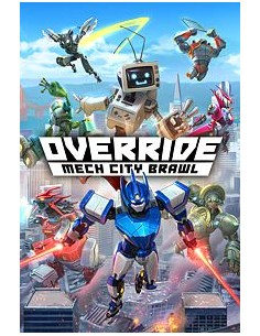 Microsoft Override: Mech City Brawl, Xbox One Perus Microsoft G3Q-00629 - 1