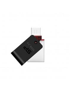 Silicon Power Mobile X31 USB-muisti 32 GB USB Type-A / Micro-USB 3.2 Gen 1 (3.1 1) Musta, Hopea Silicon Power SP032GBUF3X31V1K -