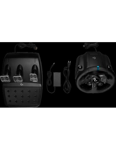 Logitech G G923 Ohjauspyörä + polkimet PC, PlayStation 4 USB Musta Logitech 941-000149 - 7