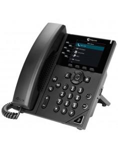 POLY VVX 350 OBi Edition IP-puhelin Musta Johdollinen puhelin LCD 6 linjat Poly 2200-48832-025 - 1