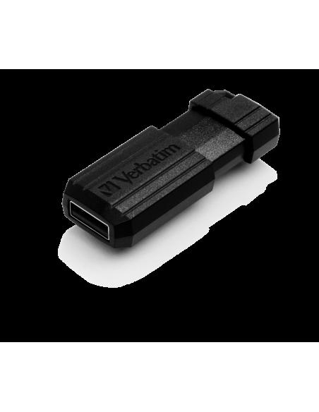 Verbatim PinStripe 128GB USB-muisti USB A-tyyppi 2.0 Musta Verbatim 49071 - 2