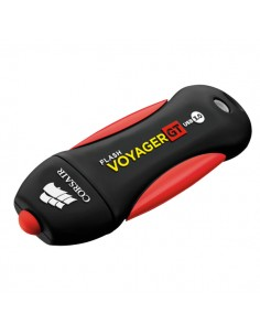 Corsair Voyager GT USB-muisti 256 GB USB A-tyyppi 3.2 Gen 1 (3.1 1) Musta, Punainen Corsair CMFVYGT3C-256GB - 1