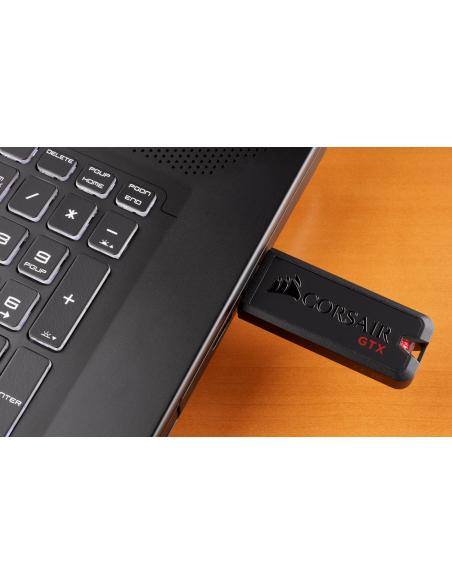 Corsair Flash Voyager GTX USB-muisti 512 GB USB A-tyyppi 3.2 Gen 1 (3.1 1) Musta Corsair CMFVYGTX3C-512GB - 8