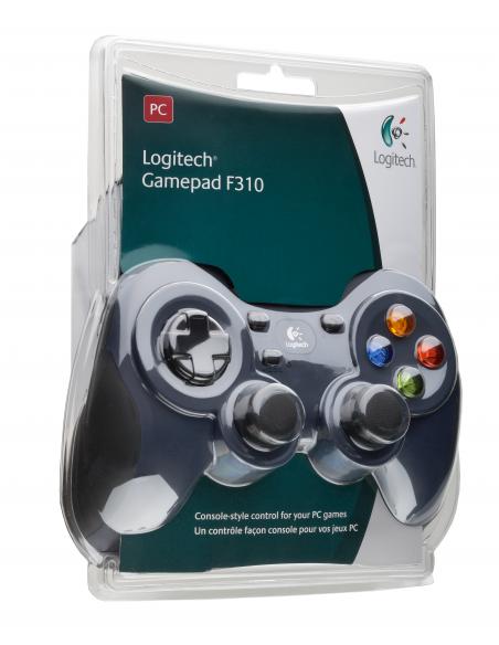 Logitech G F310 Pad-ohjain PC Digitaalinen Musta, Sininen, Monivärinen Logitech 940-000138 - 13