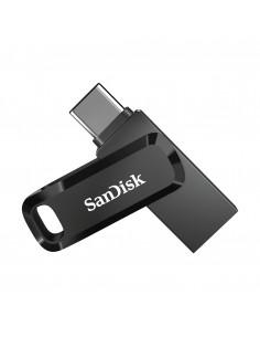 Sandisk Ultra Dual Drive USB-muisti 128 GB USB Type-A / Type-C 3.2 Gen 1 (3.1 1) Musta, Hopea Sandisk SDDDC3-128G-G46 - 1
