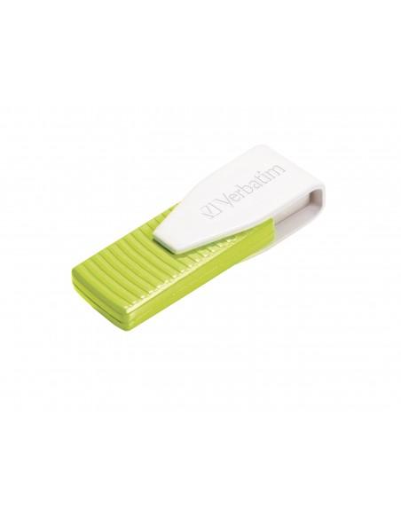 Verbatim Store 'n' Go Swivel USB-muisti 32 GB USB A-tyyppi 2.0 Vihreä Verbatim 49815 - 3
