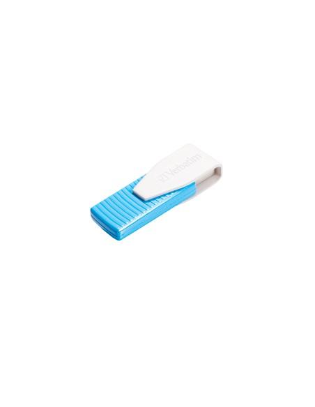 Verbatim Swivel USB-muisti 128 GB USB A-tyyppi 2.0 Sininen Verbatim 49817 - 3