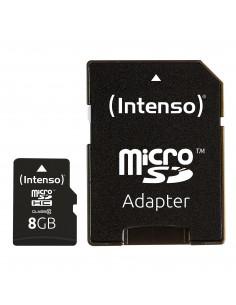 Intenso 8GB MicroSDHC flash-muisti Luokka 10 Intenso 3413460 - 1