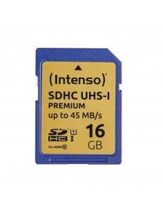 Intenso 16GB SDHC flash-muisti Luokka 10 UHS-I Intenso 3421470 - 1