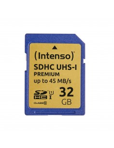 Intenso 32GB SDHC flash-muisti Luokka 10 UHS Intenso 3421480 - 1