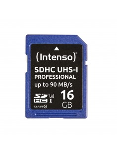Intenso 16GB SDHC flash-muisti Luokka 10 UHS Intenso 3431470 - 1