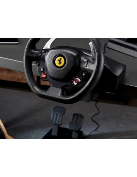 Thrustmaster T80 Ferrari 488 GTB Edition Ohjauspyörä + polkimet PlayStation 4 Digitaalinen Musta Thrustmaster 4160672 - 6