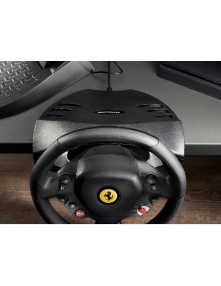 Thrustmaster T80 Ferrari 488 GTB Edition Ohjauspyörä + polkimet PlayStation 4 Digitaalinen Musta Thrustmaster 4160672 - 9