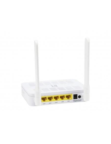 LevelOne WGR-8031 langaton reititin Kaksitaajuus (2,4 GHz/5 GHz) Gigabitti Ethernet Valkoinen Level One 54023203 - 5