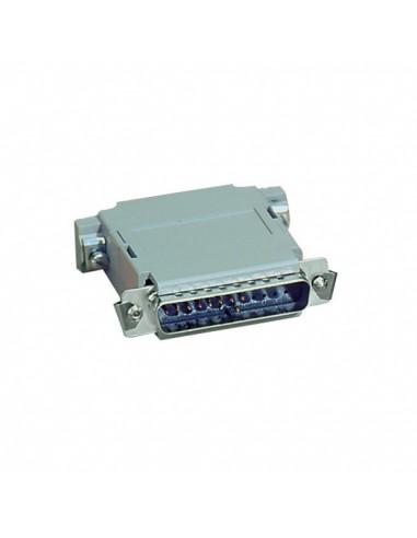 Black Box 522306 DB25 Harmaa kaapeli liitäntä / adapteri Black Box 522306 - 1