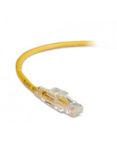 Black Box C5EPC60-YL-10M verkkokaapeli Cat5e U/UTP (UTP) Keltainen Black Box C5EPC60-YL-10M - 1