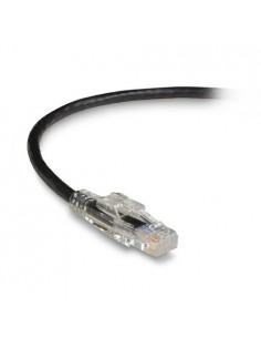 Black Box C6PC60-BK-10M verkkokaapeli Cat6a U/UTP (UTP) Musta Black Box C6PC60-BK-10M - 1