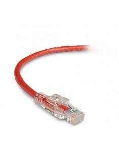 Black Box C6PC60-RD-03M verkkokaapeli 3 m Cat6 U/UTP (UTP) Punainen Black Box C6PC60-RD-03M - 1