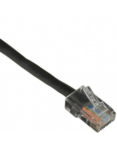 Black Box CAT5EPC-B-002-BK verkkokaapeli 0.6 m Cat5e U/UTP (UTP) Musta Black Box CAT5EPC-B-002-BK - 1
