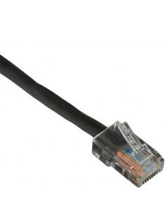 Black Box CAT6PC-B-001-BK 0.3m Cat6 U/UTP (UTP) Musta verkkokaapeli Black Box CAT6PC-B-001-BK - 1
