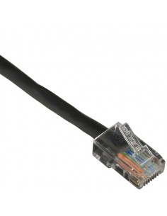 Black Box CAT6PC-B-001-BK verkkokaapeli 0.3 m Cat6 U/UTP (UTP) Musta Black Box CAT6PC-B-001-BK - 1