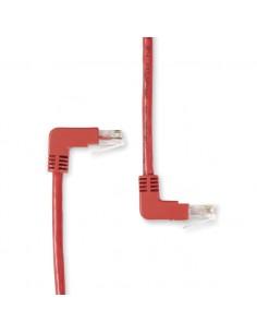 Black Box Cat6, UTP, 3ft verkkokaapeli 0.9 m U/UTP (UTP) Punainen Black Box EVNSL236-0003-90DU - 1