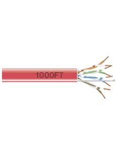 Black Box EYN849A-PB-1000 304.8m Cat5e U/UTP (UTP) Punainen verkkokaapeli Black Box EYN849A-PB-1000 - 1