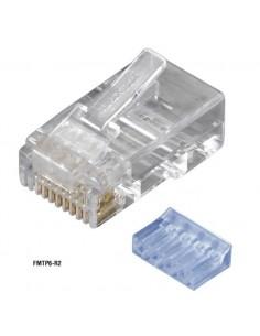 Black Box FMTP6-R2-10PAK RJ-45 Läpinäkyvä liitinjohto Black Box FMTP6-R2-10PAK - 1